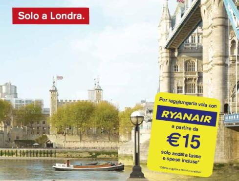 Visit London/Ryanair 'Only in London'